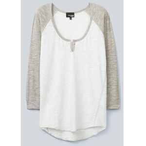 Aritzia Wilfred Free Baume T-shirt white grey XS